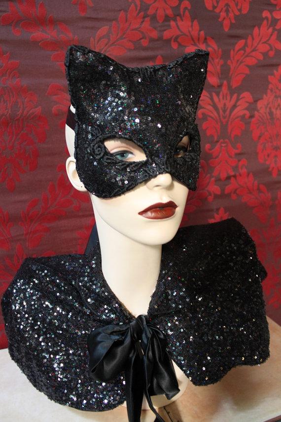 blacksequinedkitty-mask