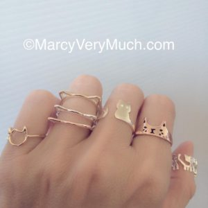 You wanted more cat rings! Weve got more cat rings!hellip