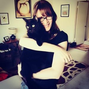 Happy #NationalHugYourCatDay #gato #meow #cats #CatsOfInstagram #moggy #feline #blackcatsrule #blackcat #penelopekitten #hugyourcatday