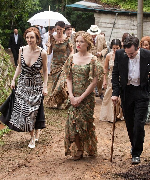 Madeleine (Olivia Grant), Alice (Jemima West) Eugene (Edward Hogg)