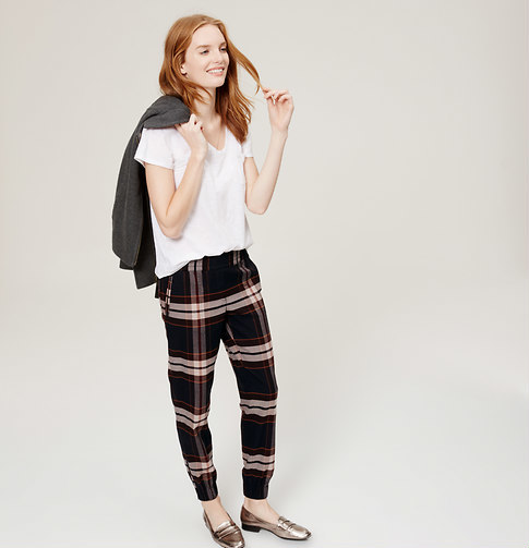 Plaid Pants! (And The Entire LOFT Store Is On Sale) – Marcy Very Much