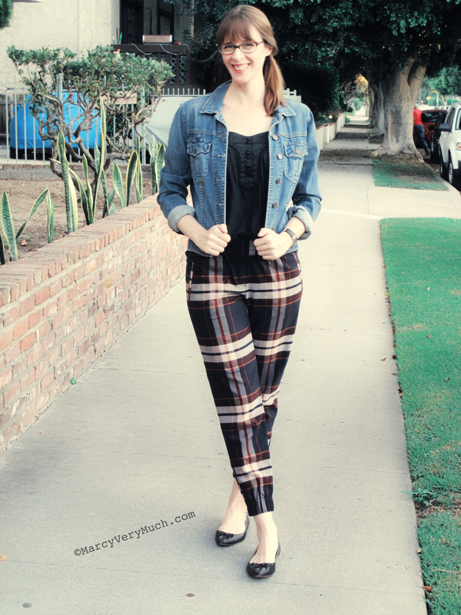 Plaid Pants Review And An Updated LOFT PSA – Marcy Very Much