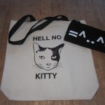 HellNo Kitty Tote and Emoji Pencil Case
