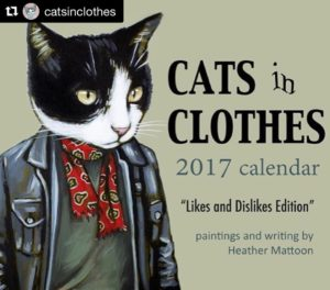 We are in love with Cats In Clothes 2017 wallhellip