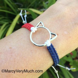 Red White n Blue PussyCat Bracelets are in the shop!hellip