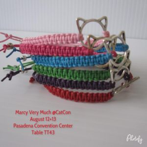 Special CatCon Price PussyCat Bracelets are 8 at CatCon thishellip