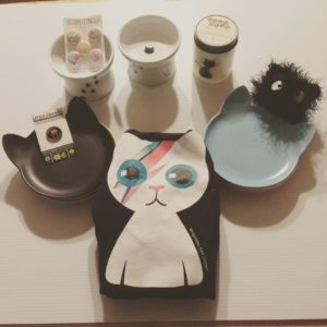 CatCon loot! Feline Magnets by bethykins Cat Bowls by necoichiushellip