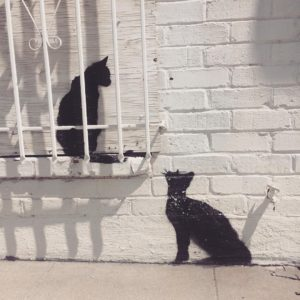 More Graffiti Cats spotted in Los Angeles! These guys arehellip