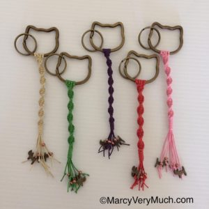 Finally got the PussyCat Macrame KeyChains in the shop! Thankshellip
